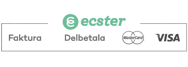 Delbetala med Ecster