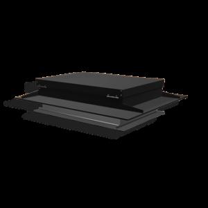 Taklucka 600x900mm svart